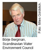 Börje Bergman, Scandinavian Water Environment Council