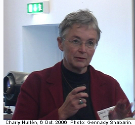 Charly Hultén, 6 Oct. 2006