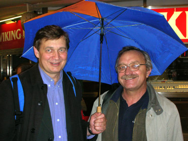 Saulius Piksrys and Oleg Bodrov, 4 Oct. 2006