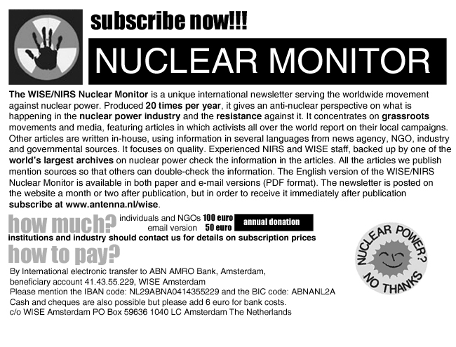 Nuclear Monitor