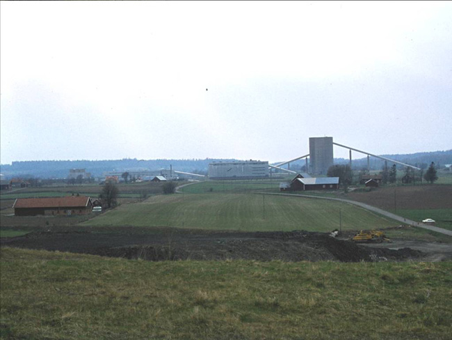 7. The processing plant at Ranstad in 1978.